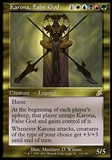 Magic the Gathering Scourge Single Karona, False God FOIL - NEAR MINT (NM)