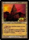 Magic the Gathering Invasion Single Keldon Necropolis UNPLAYED (NM/MT)