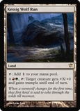 Magic the Gathering Innistrad Single Kessig Wolf Run FOIL - SLIGHT PLAY (SP)