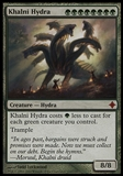 Magic the Gathering Rise of the Eldrazi Single Khalni Hydra - SLIGHT PLAY (SP)