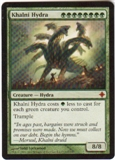 Magic the Gathering Rise of the Eldrazi Single Khalni Hydra UNPLAYED (NM/MT)