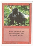 Magic the Gathering 3rd Ed (Revised) Single Kird Ape UNPLAYED (NM/MT)