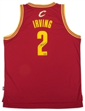 Kyrie Irving Autographed Cleveland Cavaliers Adidas Maroon Jersey (Panini Authentics)