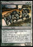 Magic the Gathering Promotional Single Kitchen Finks FNM - MODERATE PLAY (MP)