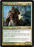 Magic the Gathering Conflux Single Knight of the Reliquary - SLIGHT PLAY (SP)