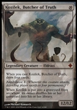 Magic the Gathering Rise of Eldrazi Single Kozilek, Butcher of Truth FOIL - SLIGHT PLAY
