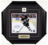 Kris Letang Autographed Framed Pittsburgh Penguins 8x10 Photo (Frameworth)