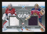 2012/13 In the Game Between The Pipes Junior Gems Silver #JG04 Maxime Lagace/Alex Dubeau /100