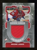 2012/13 In the Game Between The Pipes Jerseys Silver #M38 Maxime Lagace /140