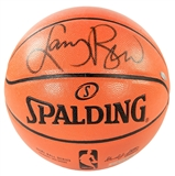 Larry Bird Autographed Boston Celtics Spalding Basketball (Steiner)