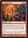 Magic the Gathering Zendikar Single Lavaball Trap UNPLAYED (NM/MT)