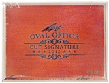 2012 Leaf Oval Office Cut Signature Hobby Box