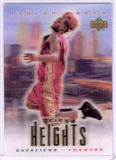 "Lebron James """"City Heights"""" 3-D Special Card"
