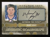 2012/13 In the Game Between The Pipes Autographs #AML Manny Legace DEC Autograph