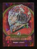2012/13 In the Game Between The Pipes Masked Men V Rainbow #MM24 Manny Legace