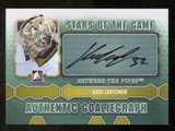 2012/13 In the Game Between The Pipes Autographs #AKL Kari Lehtonen SG Autograph