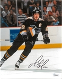 Mario Lemieux Autographed Pittsburgh Penguins 8X10 Photo (JSA)