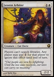 Magic the Gathering Scars of Mirrodin Single Leonin Arbiter FOIL - NEAR MINT (NM)