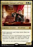 Magic the Gathering Conspiracy: Take the Throne Single Leovold, Emissary of Trest NEAR MINT (NM)