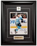 Kris Letang Autographed Framed Pittsburgh Penguins Throwback 8x10 Photo (Frameworth)