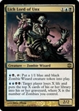 Magic the Gathering Alara Reborn Single Lich Lord of Unx UNPLAYED (NM/MT)