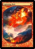 Magic the Gathering Promo Single Lightning Bolt FOIL (Textless)