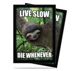 Ultra Pro Sloth Live Slow Die Whenever Standard Sized Deck Protectors (50 ct) - Regular Price $3.99 !!!