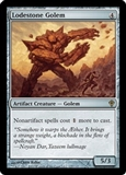 Magic the Gathering Worldwake Single Lodestone Golem Foil