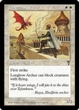 Magic the Gathering Visions Single Longbow Archer UNPLAYED (NM/MT)