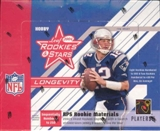 2004 Leaf Rookies & Stars Longevity Football Hobby Box
