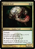 Magic the Gathering Return to Ravnica Single Lotleth Troll Foil