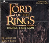 Decipher Lord of the Rings Fellowship of the Ring Draft Deck Box