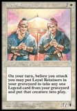 Magic the Gathering Portal 3: 3 Kingdoms Single Loyal Retainers - NEAR MINT (NM)