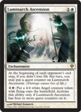Magic the Gathering Zendikar Single Luminarch Ascension - NEAR MINT (NM)