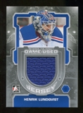 2012/13 In the Game Between The Pipes Jerseys Silver #M43 Henrik Lundqvist /140