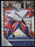 2005/06 Upper Deck #216 Henrik Lundqvist Young Guns Rookie Card