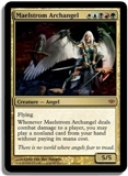 Magic the Gathering Conflux Single Maelstrom Archangel FOIL