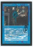 Magic the Gathering Beta Artist Proof Magical Hack - SIGNED BY JULIE BAROH