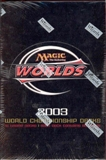 Magic the Gathering World Championship Deck Box (2003)
