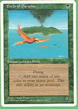 Magic the Gathering 4th Edition Single Birds of Paradise MODERATE PLAY (VG/EX)