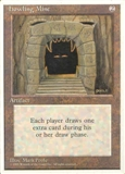 Magic the Gathering 4th Edition Single Howling Mine - MODERATE PLAY (MP)