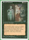 Magic the Gathering 4th Edition Single Royal Assassin LIGHT PLAY (NM)