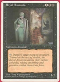 Magic the Gathering 4th Edition Single Royal Assassin MODERATE PLAY (VG/EX)