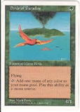 Magic the Gathering 5th Edition Single Birds of Paradise UNPLAYED (NM/MT)