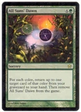 Magic the Gathering Fifth Dawn Single All Suns' Dawn Foil