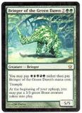 Magic the Gathering Fifth Dawn Single Bringer of the Green Dawn - NEAR MINT (NM)