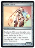 Magic the Gathering Fifth Dawn Single Etched Oracle Foil