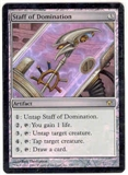 Magic the Gathering Fifth Dawn Single Staff of Domination FOIL