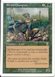 Magic the Gathering 7th Edition Single Elvish Champion - NEAR MINT (NM)