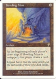 Magic the Gathering 7th Edition Single Howling Mine - SLIGHT PLAY (SP)